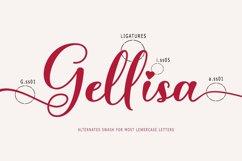 Gellisa Script Product Image 5