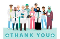 Thanks to medical workers poster Product Image 1