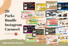 Best deals! 20 Packs bundle instagram carousel powerpoint te Product Image 1
