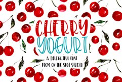 Cherry Yogurt Product Image 1