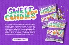 Web Font Cotton Candy Font Product Image 3