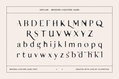 skylar - ligature sans font family Product Image 6