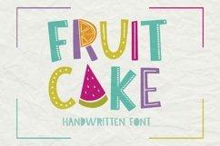 Fruit Cake Handwritten Font Product Image 6