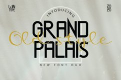 Grand Palais Old Style Product Image 1