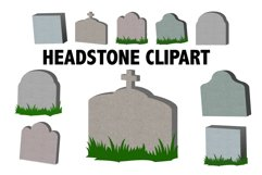 Headstone Clipart Product Image 1