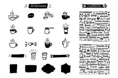 Coffee lettering set Product Image 3