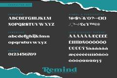 Remind-Modern Serif Font Product Image 3