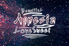 Agnezia - 5 Font styles and 150 Swashes Product Image 2