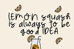 Lemon Nicmat Bold Playful font Product Image 3