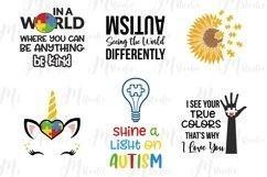Autism Quotes svg bundle Product Image 3