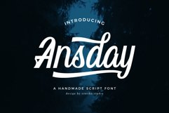 Ansday Script Product Image 1