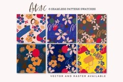 Something - Abstract Floral Patterns Product Image 3