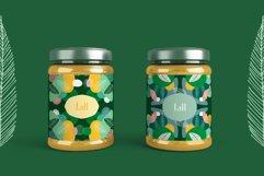Seasonarium. Abstract botanical pattern and graphic set. Product Image 3