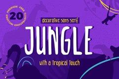 Jungle - Decorative Sans Serif Product Image 1