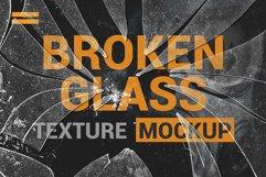 Broken Glass Texture Mockup Product Image 2