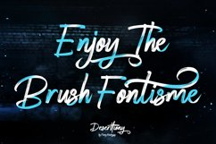 Deserttiony - Handwritten Font Product Image 7