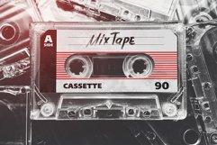 Vintage Cassette Tape Case With Cassette Mockup Product Image 3