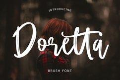 Doretta Brush Script Font Product Image 1