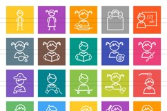 50 Kids Line Multicolor B/G Icons Product Image 2
