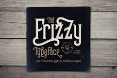 Frizzy vintage font Product Image 1