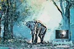 Paintor - Digital Watercolor Art | Photoshop Action Product Image 4