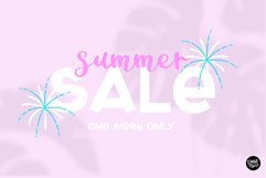 POOLSIDE a Bold Display Font Product Image 5