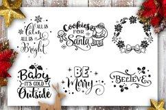 Christmas Bundle SVG bundle 40 designs Winter SVG Product Image 2
