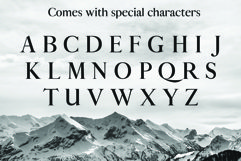 ALISTAIR FONT, A modern Serif Product Image 5