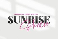 Sunrise Silencio Font Duo Product Image 1