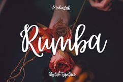 Rumba Script Product Image 1