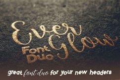 Everglow Script Font Duo Product Image 2