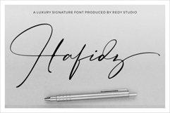 Hafidz   Luxury Signature Font Product Image 1