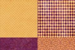 16 Royal Decree Burgundy & Gold Digital Paper Pack Product Image 5
