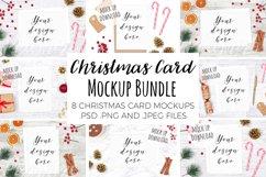 Christmas Card Mockup Bundle Product Image 1