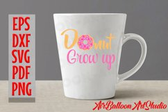 Donut Grow Up Svg Donut Svg Sweet Donut Svg Doughnut SVG Product Image 2