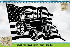 American Farmer Black | Life is better on the Farm | Tractor Product Image 1