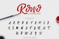 Rowo Typeface + Bonus Product Image 4