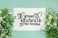 Web Font Browing - A Script With Hearts & Swooshes Product Image 3