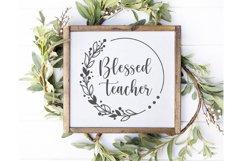Teacher Svg Bundle, Teacher Svg, Teacher SVG Files, Teacher Product Image 4