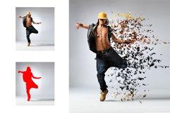 15 Wall Art Photoshop Actions Bundle Product Image 26