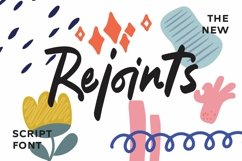 Web Font Rejoints - Script Fonts Product Image 1