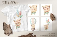 Cute woodland animals clipart. Product Image 5