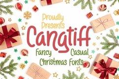 Web Font Cangtiff - fancy Chrismas Font Product Image 1