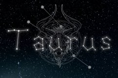 Written in Stars, Constellation Zodiac Font! Product Image 3