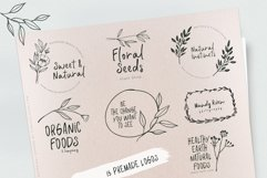 Botanical Garden Font & Logos Product Image 2