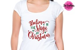 Believe in the Magic of Christmas - SVG, DXF, EPS Cut Files Product Image 2