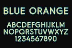 Blue Orange Color SVG Font Product Image 2