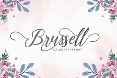 Brussell Calligraphy Product Image 1