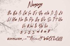 Web Font Nagoya - Handwritten Font Product Image 5