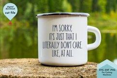 Funny Sarcastic Coffee Mug SVG Product Image 1